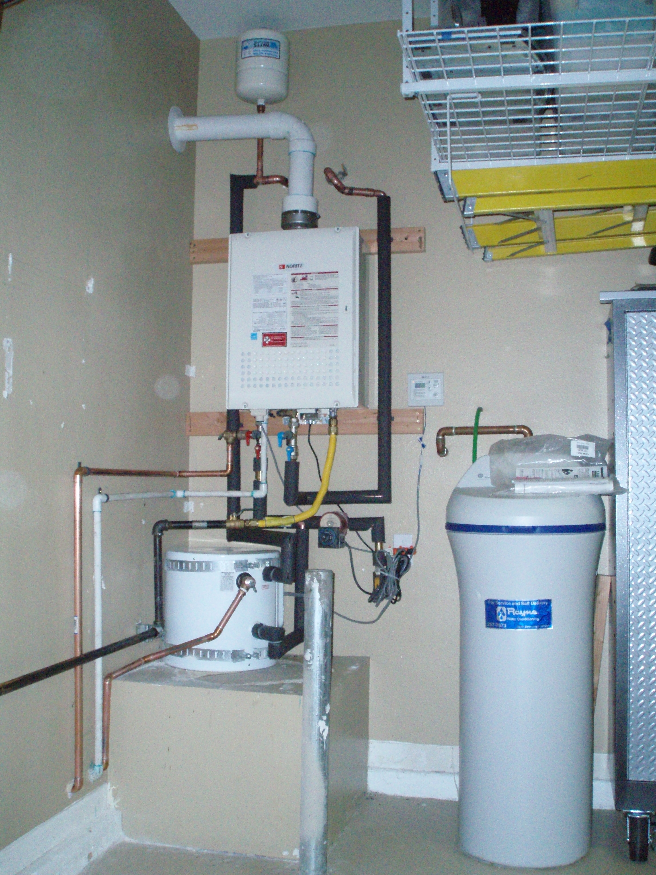 Residential Tankless Water Heater Installations